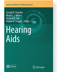 Book Announcement – Hearing Aids Editors: G. R. Popelka, B. C. J. Moore, R. R. Fay, A. N. Popper (Eds.)