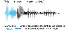 Speech It's Not as Acoustic as You Think – Matthew B. Winn